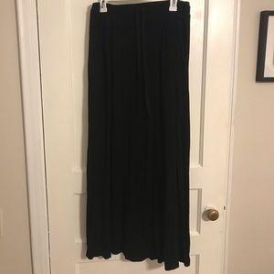 Agnes & Dora black Maxi Skirt